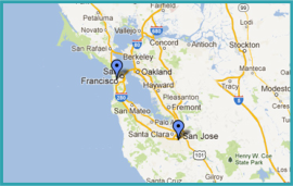 our location map